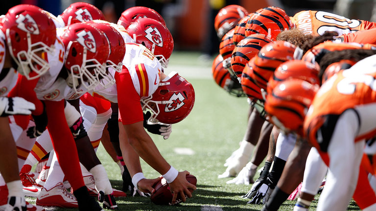 Kansas City Chiefs vs. Cincinnati Bengals at Arrowhead Stadium