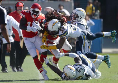 Kansas City Chiefs vs. Los Angeles Chargers (Tony Gonzalez Ring of Honor Ceremony) at Arrowhead Stadium