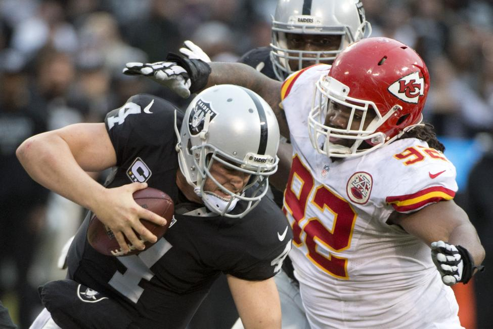 Kansas City Chiefs vs. Oakland Raiders at Arrowhead Stadium