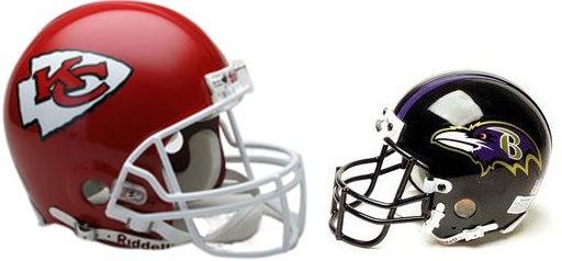 Kansas City Chiefs vs. Baltimore Ravens at Arrowhead Stadium