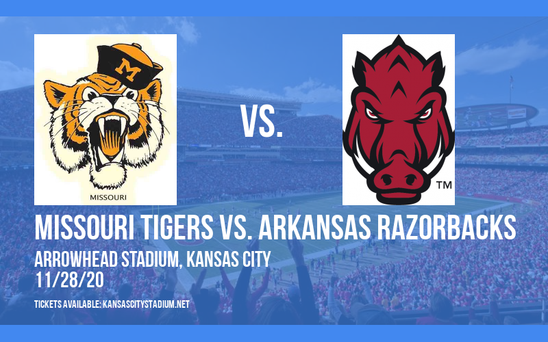 Missouri Tigers vs. Arkansas Razorbacks at Arrowhead Stadium