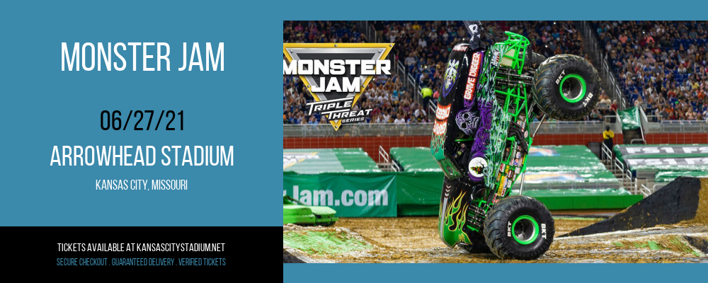 Monster Jam at Arrowhead Stadium
